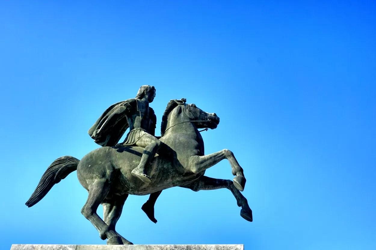 Thessaloniki standbeeld