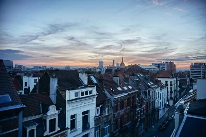 panorama Brussel