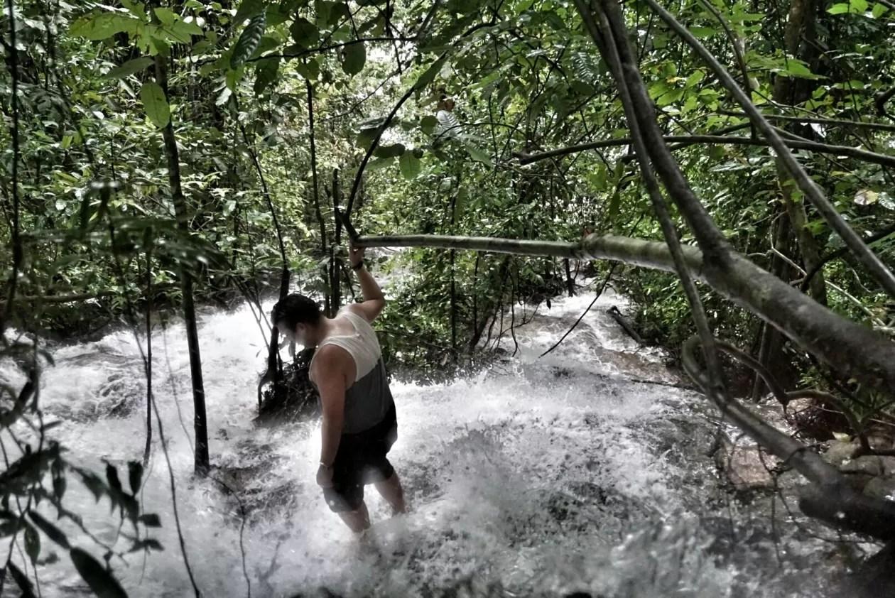 Verdwalen in de regenwouden van Khao Sok National Park