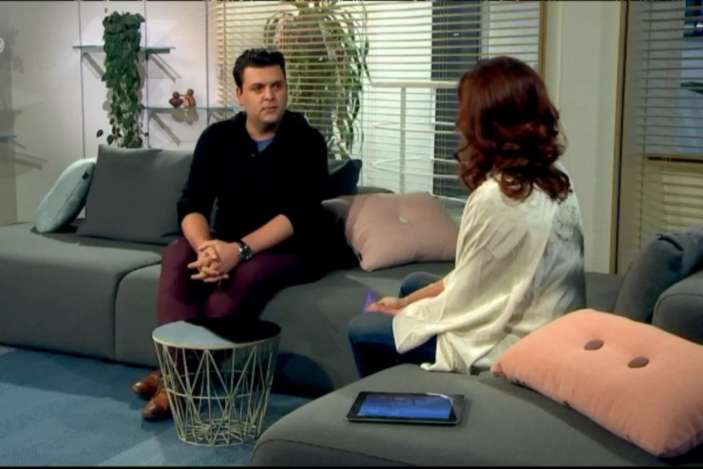 Interview op ROB-tv