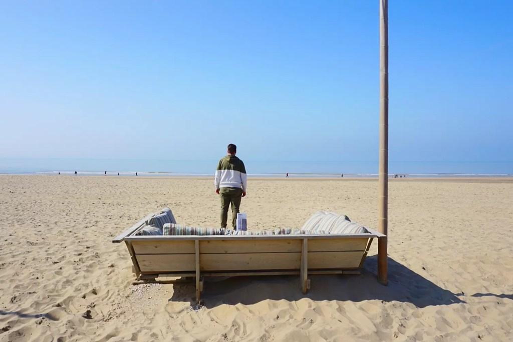 Katwijk aan Zee: uitwaaien op de boulevard