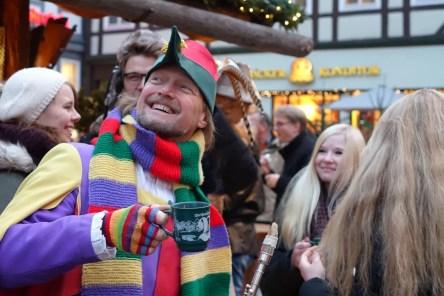 Hameln kerstmarkten in Nedersaksen