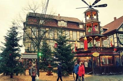 Celle kerstmarkten in Nedersaksen