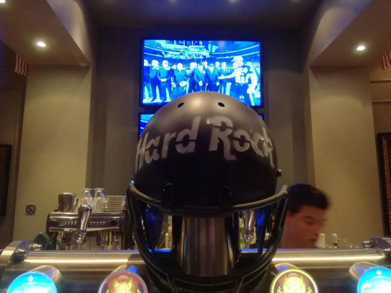 Rein op pad: Super Bowl in Hard Rock Café Brussels