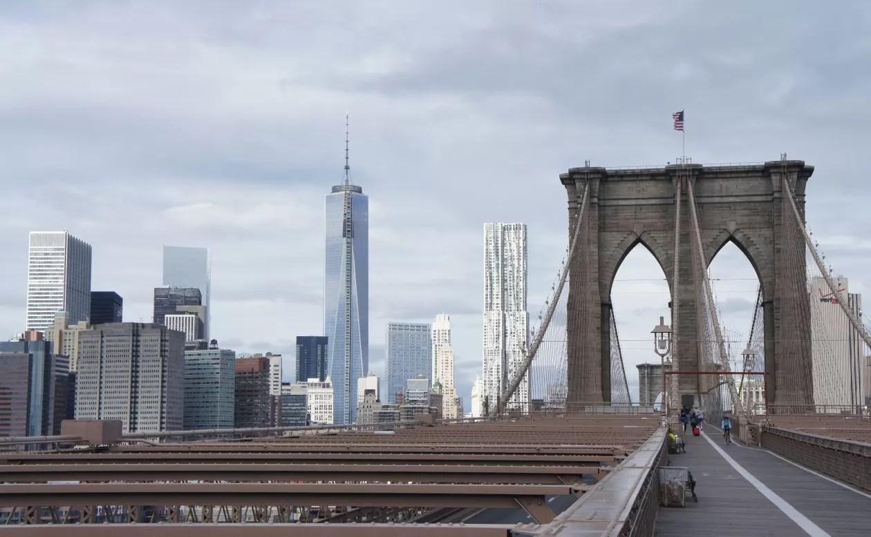 gratis in new york brooklyn bridge