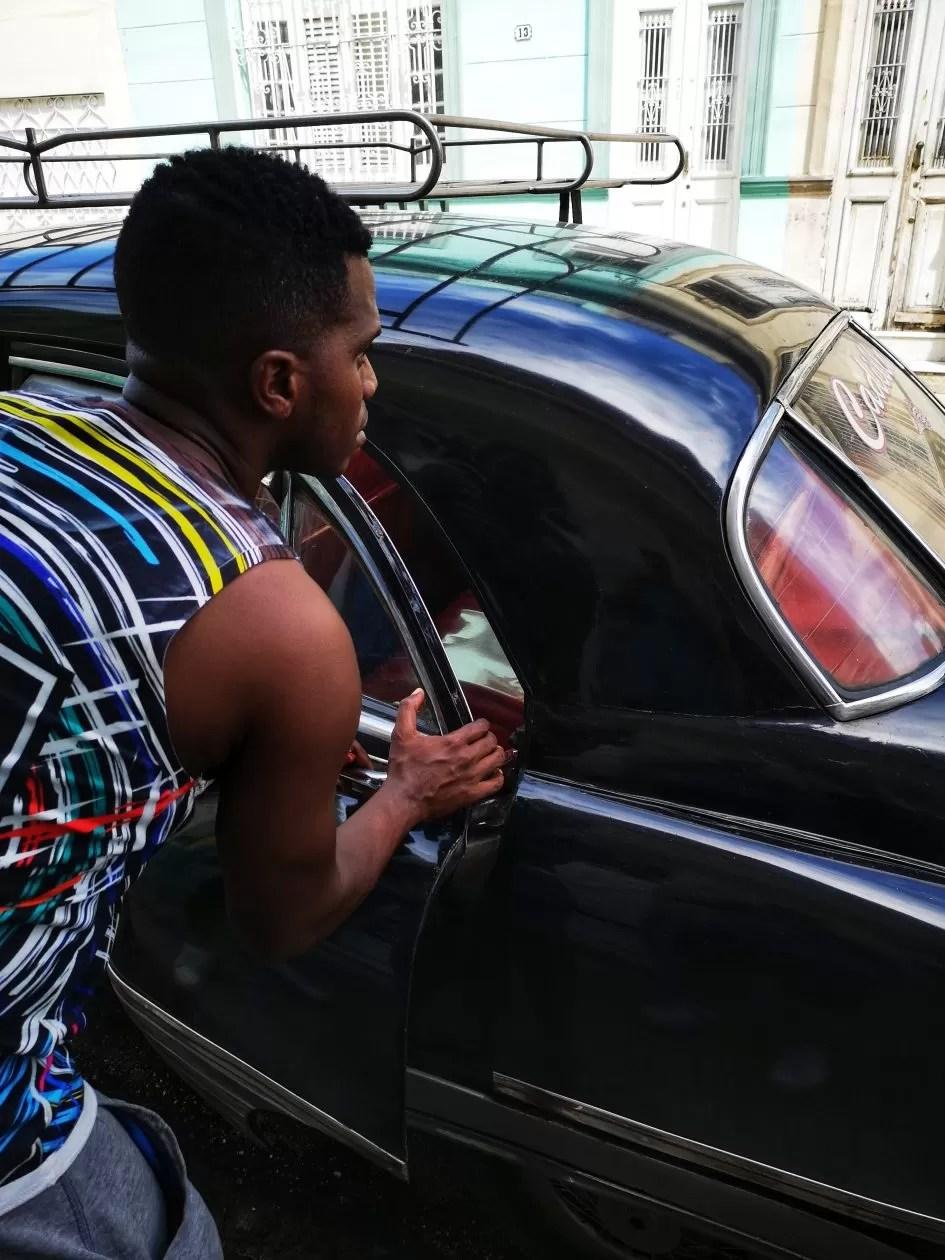 Cuba taxi collectivo