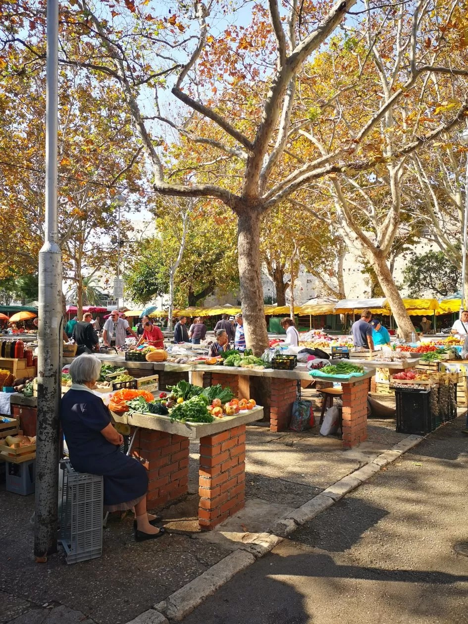 Markt Split Kroatië