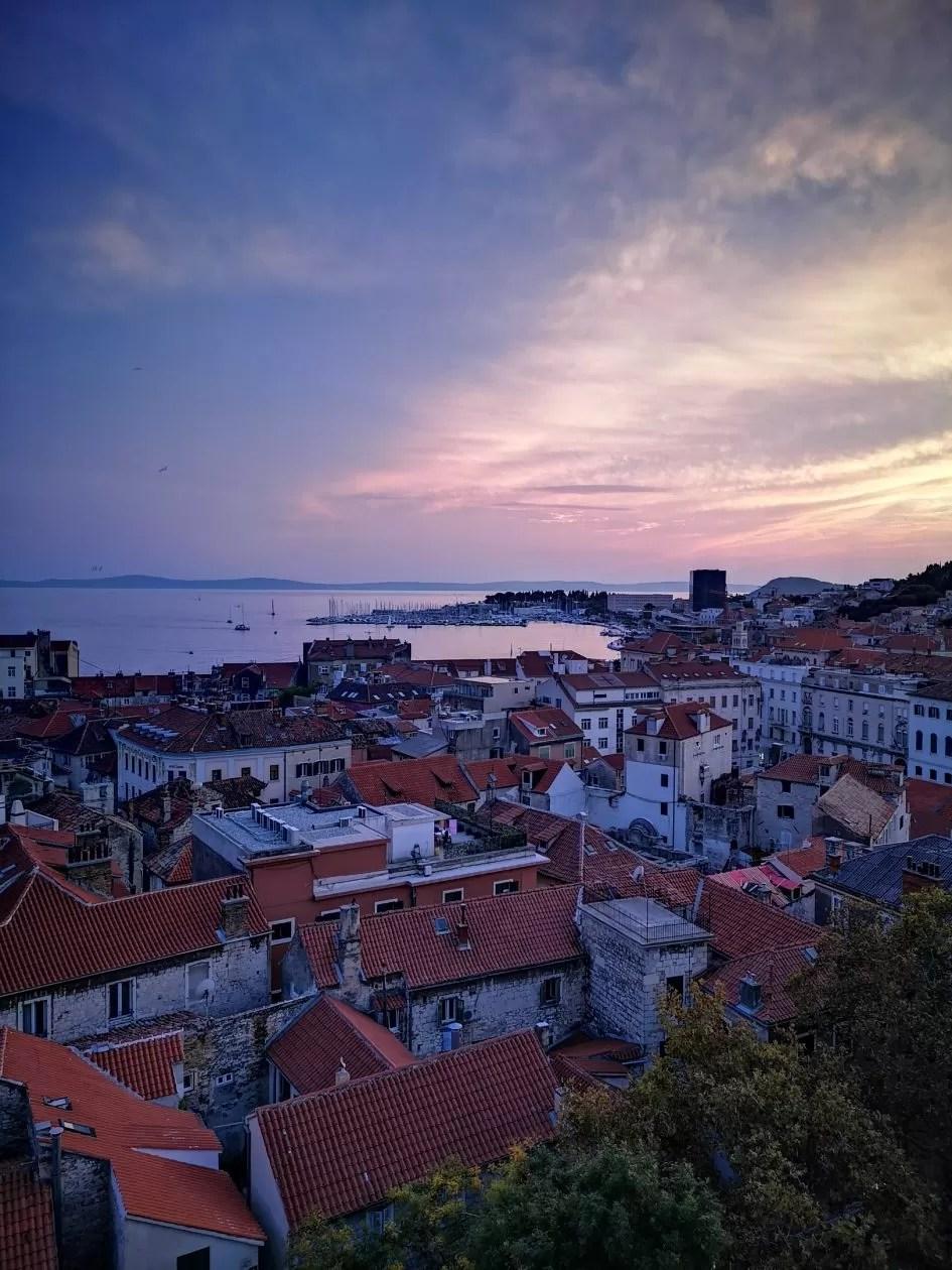 Panorama Split Kroatië