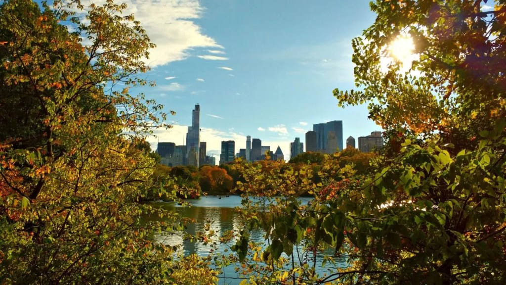 central park eerste dag in new york