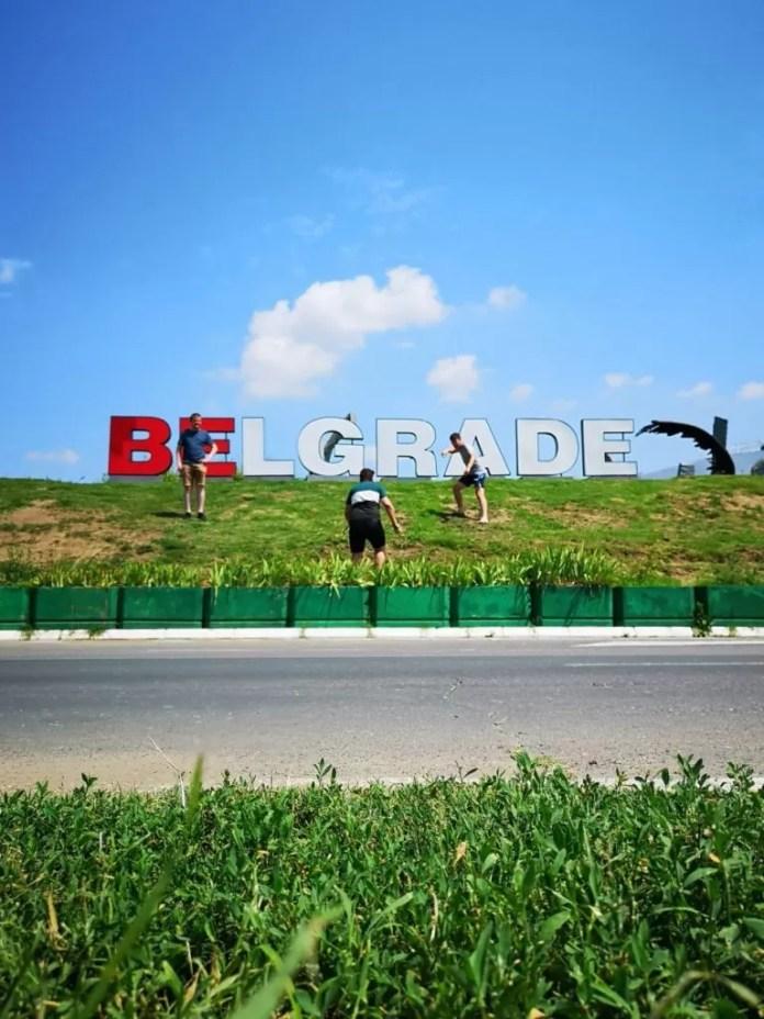 sign belgrade