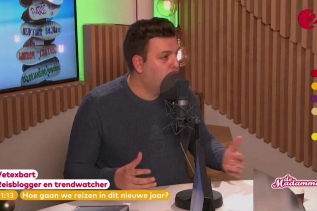 Vetexbart bij De Madammen op Radio 2