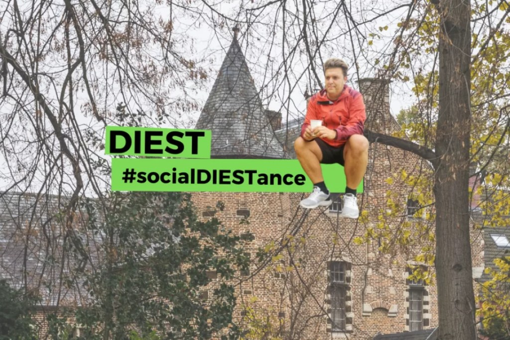 #socialDIESTance: Citytrip Diest (video)