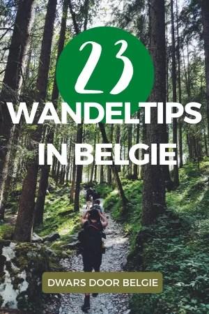WANDELTIPS IN BELGIE