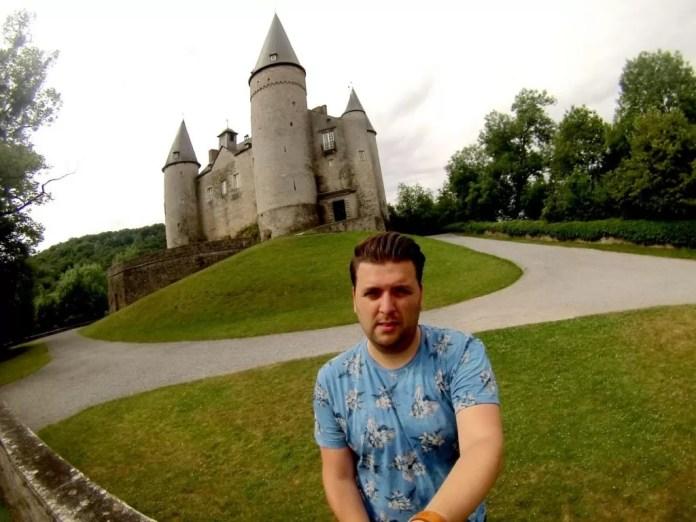 kasteel veves wandelen in Wallonië