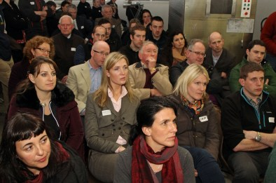 Vets enjoying presentations at the recent AVSPNI event at AFBI Lab, Omagh