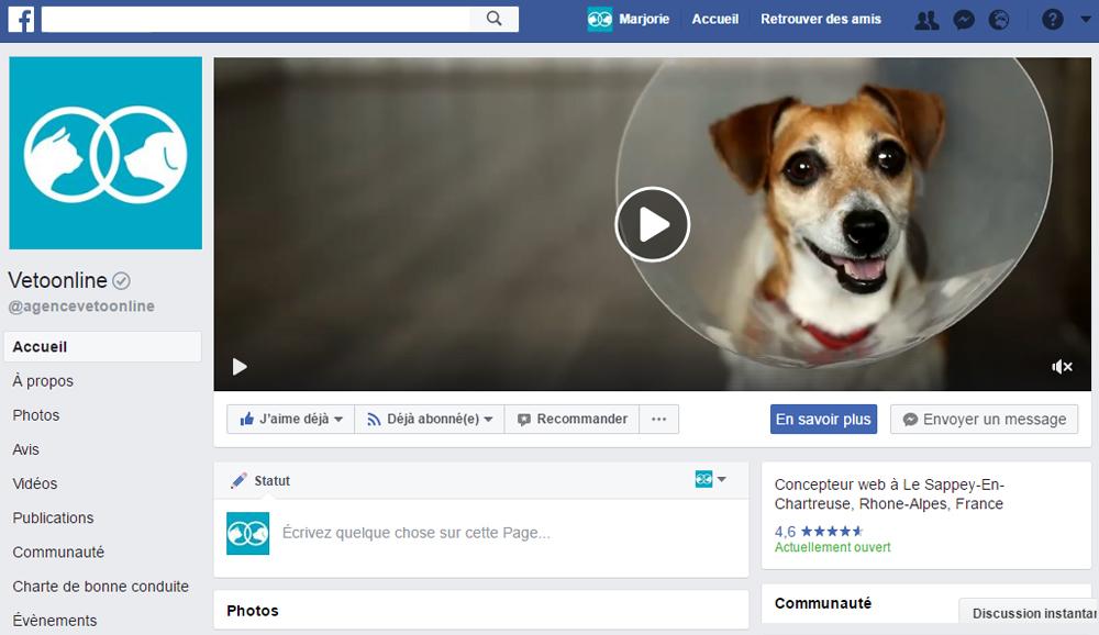Animez Votre Page Facebook Avec Une Couverture Video Vetoonline