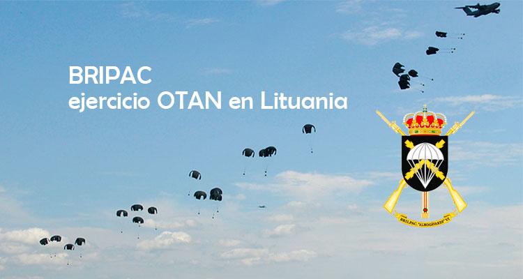 Ejercicio OTAN en Lituania Bripac. VetPac