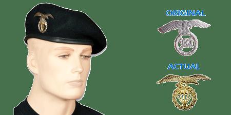 Boina y emblemas Bripac