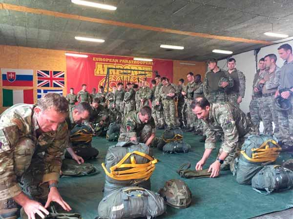 European Paratroopers Associations cursos