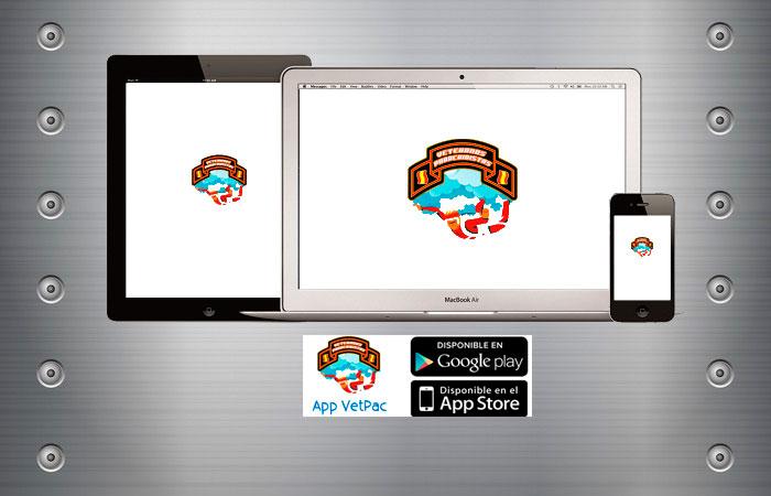 Actualización ver. app móvil VetPac tablet y PC