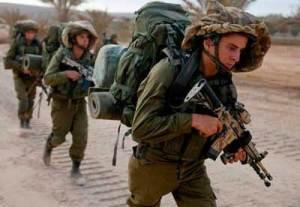 Entrenamiento ejercito israelí