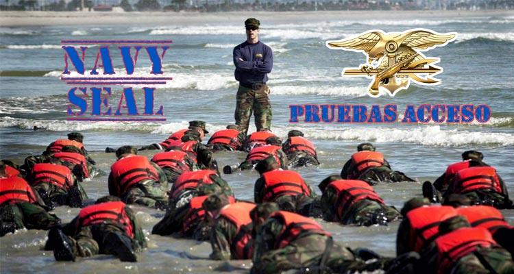 pruebas de acceso a los Navy Seal