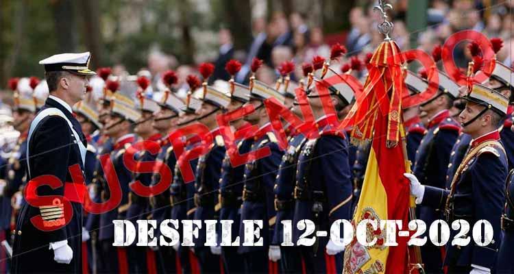 suspendido el desfile militar 12 de octubre de 2020