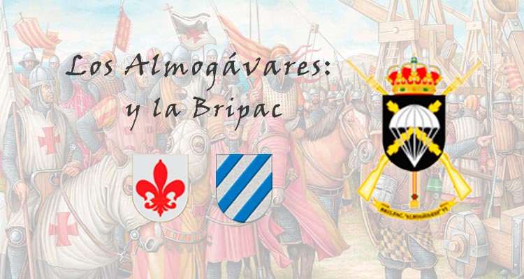 Los Almogávares Roger de Flor y Roger de Laura con la Bripac. VetPac