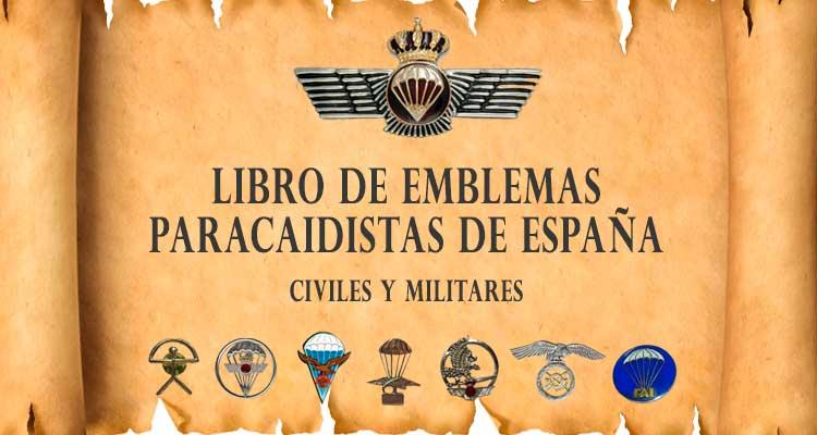libro de emblematología paracaidista de España