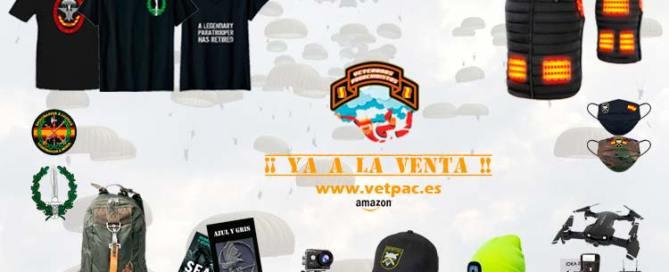 Comprar artículos militares paracaidistas en VETPAC www.vetpac.es
