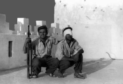 Heridos durante el combate en Telata Sección Paracaidista del Tte. Ortíz de Zárate