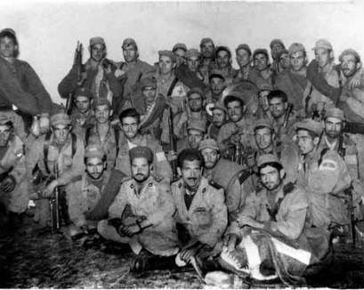 Liberados Sección Paracaidista del Tte. Ortíz de Zárate