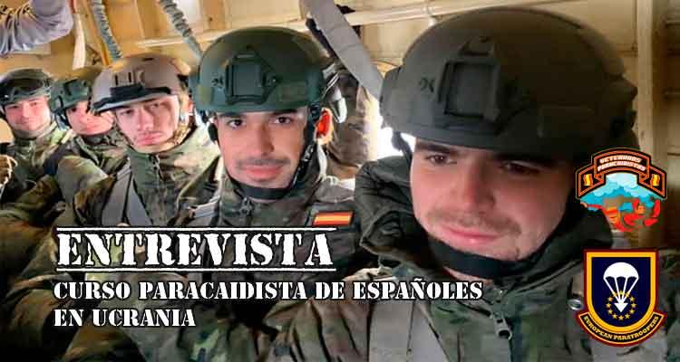 Cursos paracaidistas organizados por EPA. Colaborador VetPac