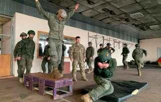 ormación curso paracaidista EPA en Ukrania. VetPac
