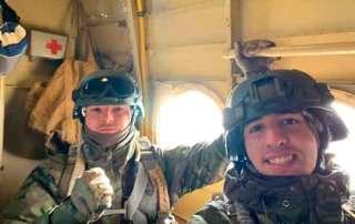 Patrulla Curso paracaidista EPA en Ukrania. VetPac