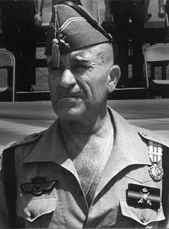 Pallás En la Legión mandó la V Bandera, el 2º y 4º Tercio y la subinspección
