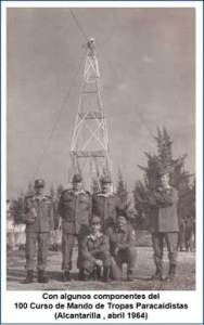 General Coloma: curso de Mando de tropas paracaidistas