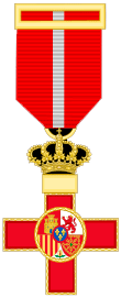 Cruz Mérito Militar con distintivo Rojo