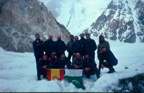 Expedición Hidden Peak 1996 del GMAM. Coronel Alberto Ayora