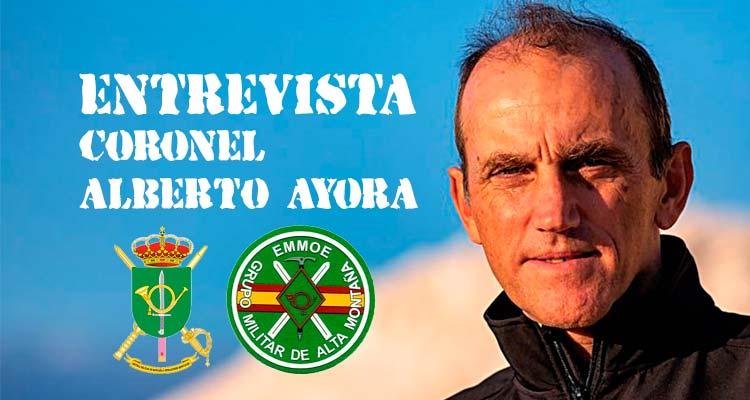 Portada entrevista VetPac al Coronel Alberto Ayora