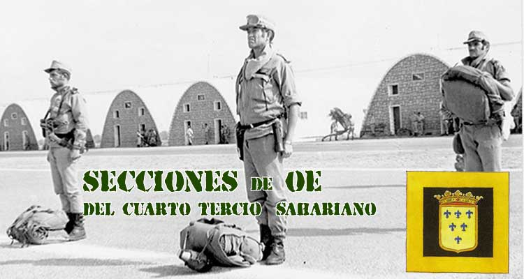 Secciones de Operaciones Especiales del 4º Tercio Sahariano