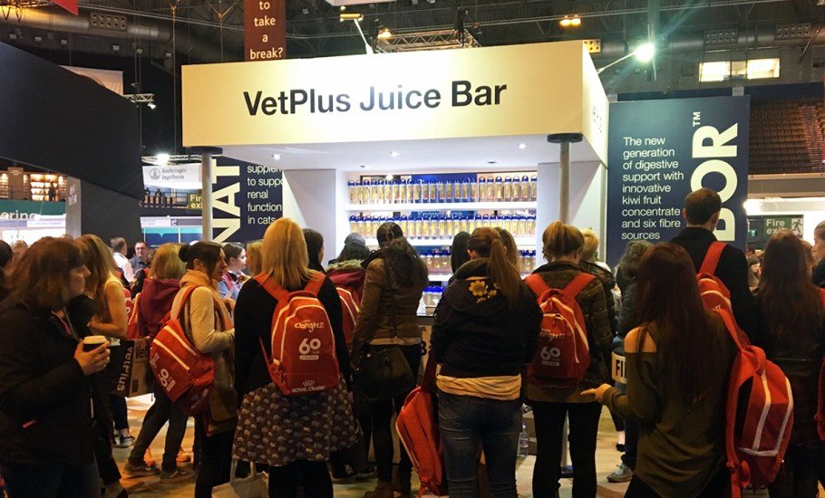 VetPlus Juice Bar at BSAVA