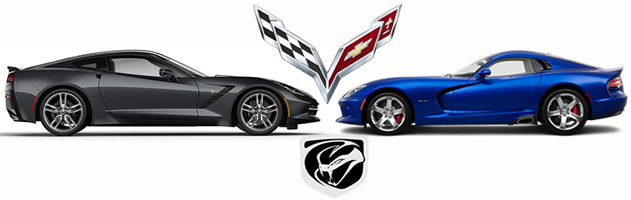2014 C7 Corvette Sales vs. SRT Viper Sales