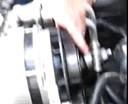 How To Change The Headlight Motor Gear In A C4 Corvette Vettetube. Corvette C4 Serpentine Belt Removal Part2. Corvette. 87 Corvette Serpentine Belt Diagram At Scoala.co