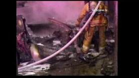Driver Abandons Burning Corvette