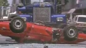 1987 Corvette vs Cement Truck