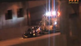 Corvette Crashes, Then Wrecked Again By Tow Truck Driver