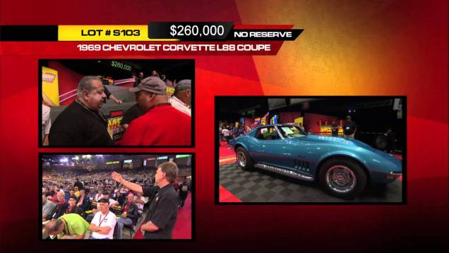 1969 Chevrolet Corvette L88 Coupe 427/430 HP, 4-Speed