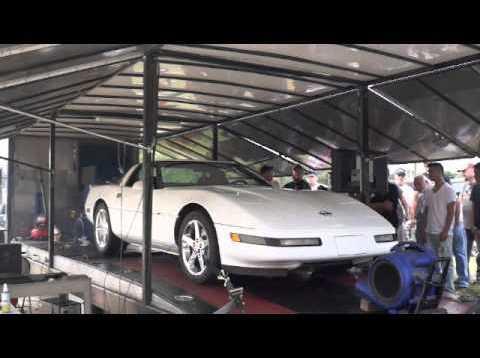 1995 Corvette Dyno Run