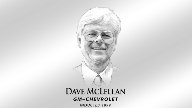 1999 Corvette Hall of Fame Inductee Dave McLellan
